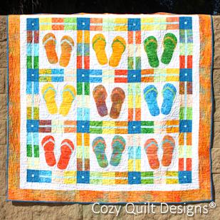 Happy Feet flip flops