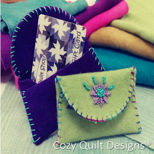 Wooly Gift Card Holder