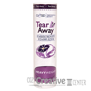 Tear-Away HeavyWeight Stabilizer - White 10 in.