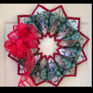 Fold 'N Stitch Wreath