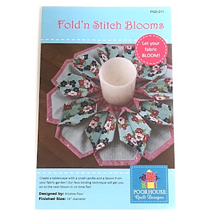 Poorhouse - Fold n Stitch Blooms