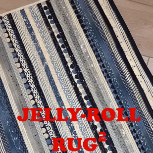 Jelly Roll Rug 2 - R.J. Designs - RJD120