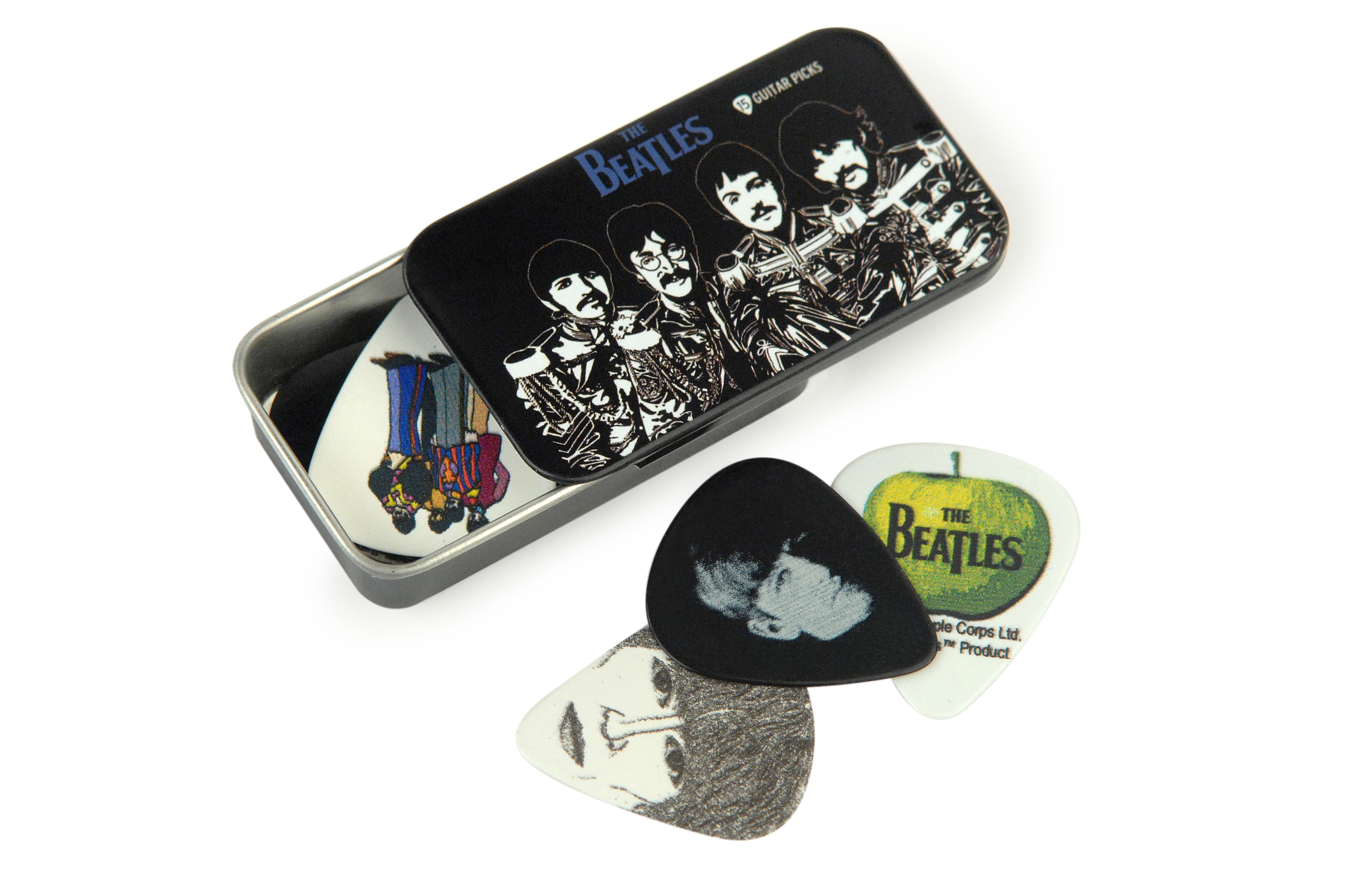 Planet Waves Beatles Signature Guitar Pick Tins, Sgt