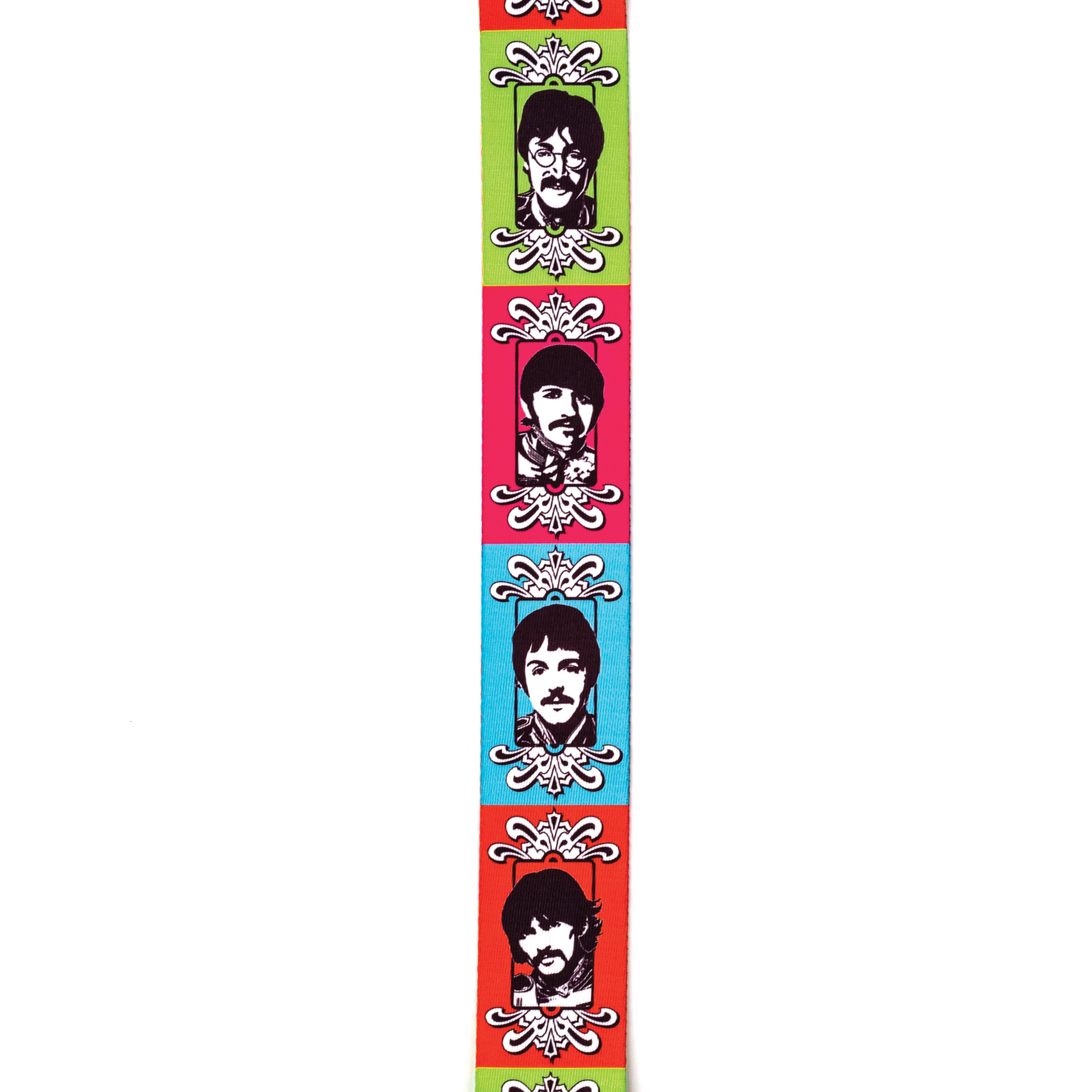 Beatles-sgt peppers LHCB guitar strap