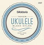 D'Addario Black Tenor Nylon Uke Strings