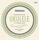 D'Addario EJ87S Titanium Soprano Ukulele Stringset
