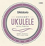 D'Addario EJ88C Nyltech Concert Ukulele Stringset