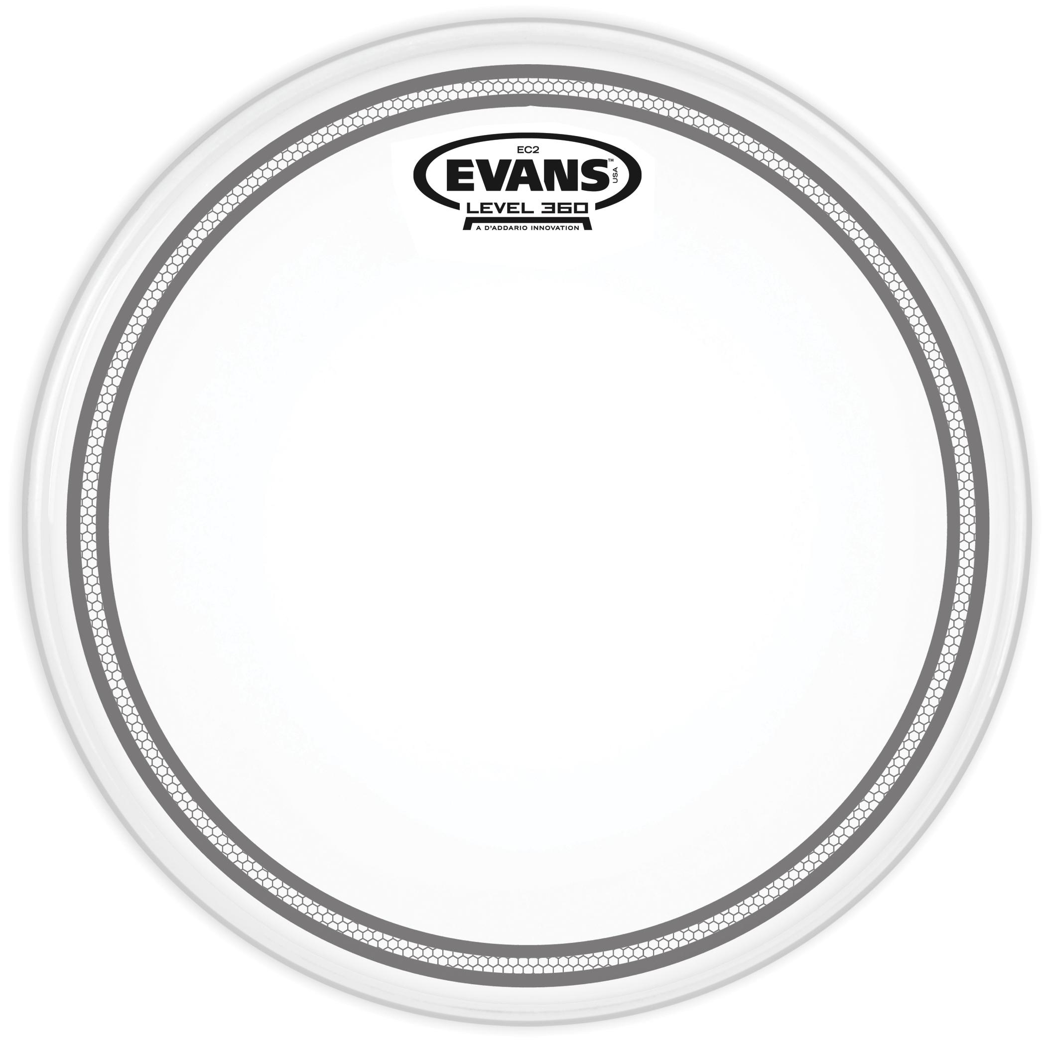 Evans EC2 10 Coated B10EC2S Drumhead