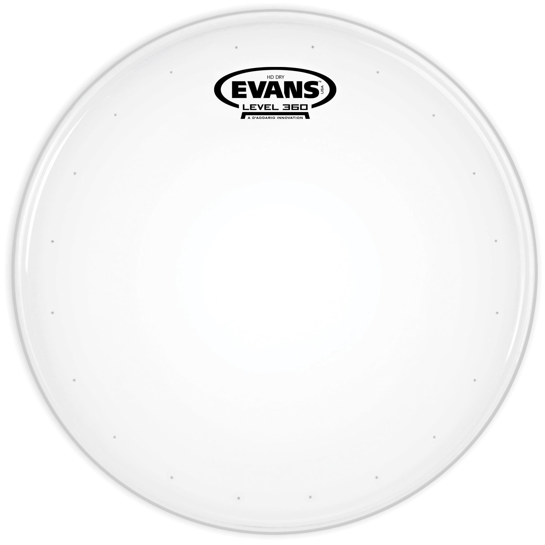 Evans Genera HD Dry Drum Head 12 Inch