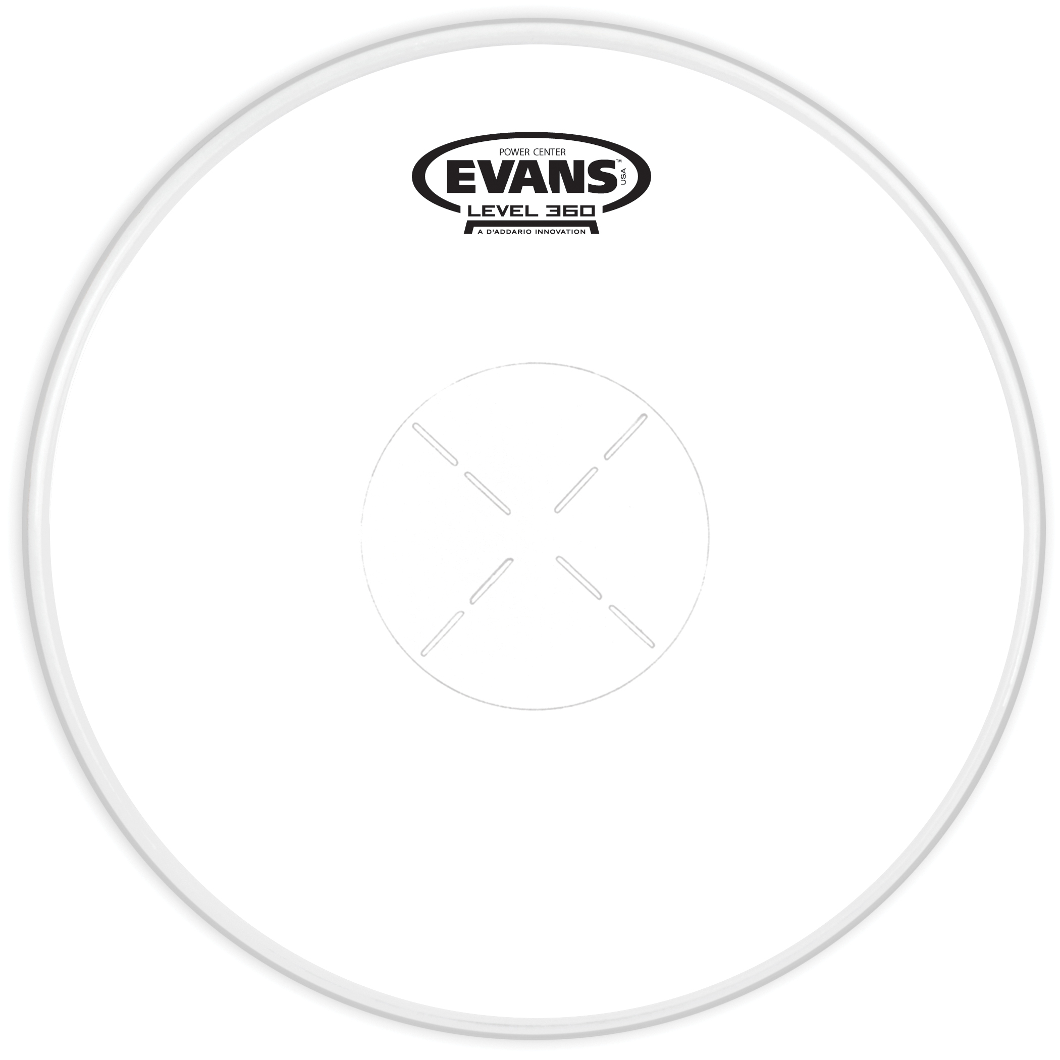 Evans Power Center Drum Head 13