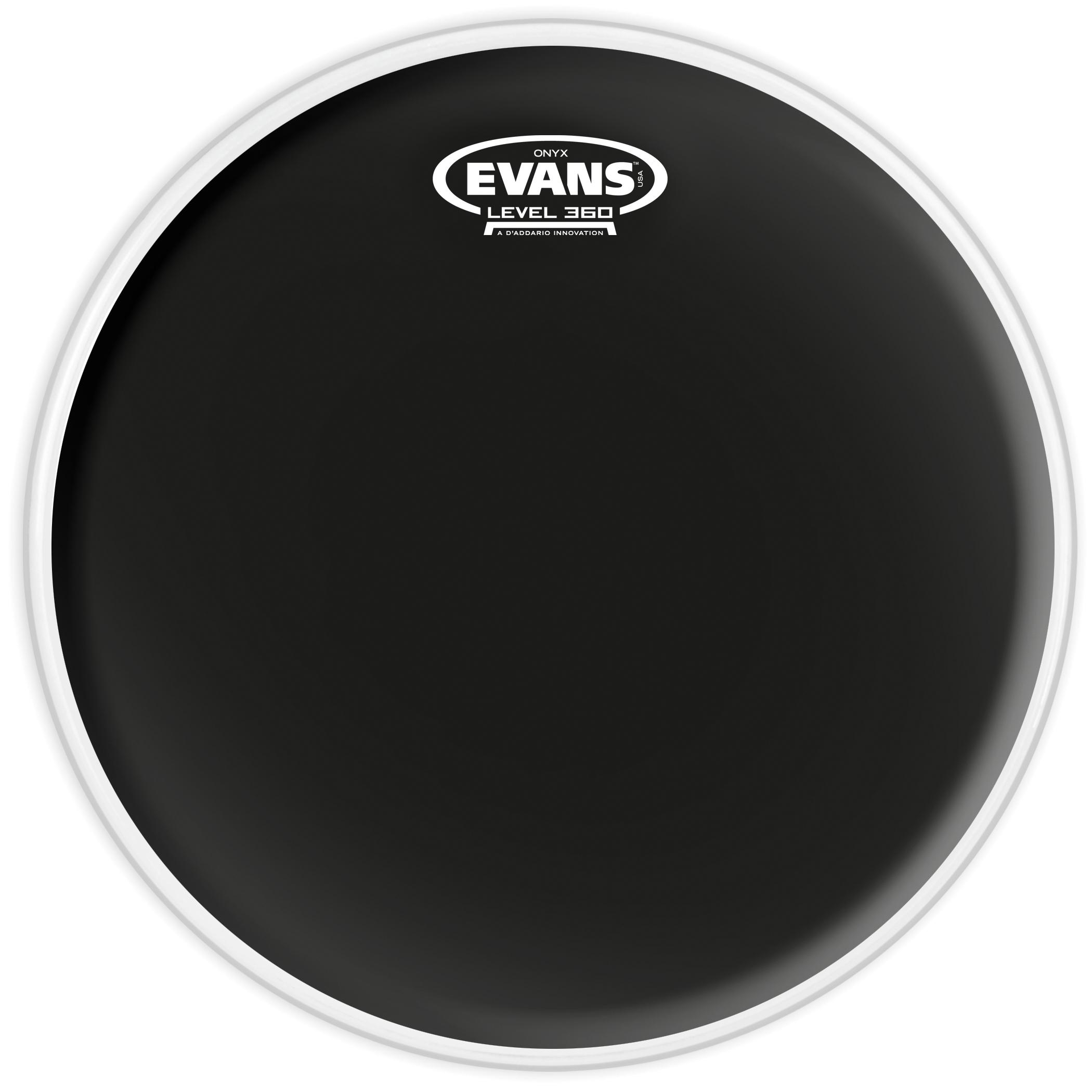 Evans Onyx 14 2-Ply Coated B14ONX2 Drumhead