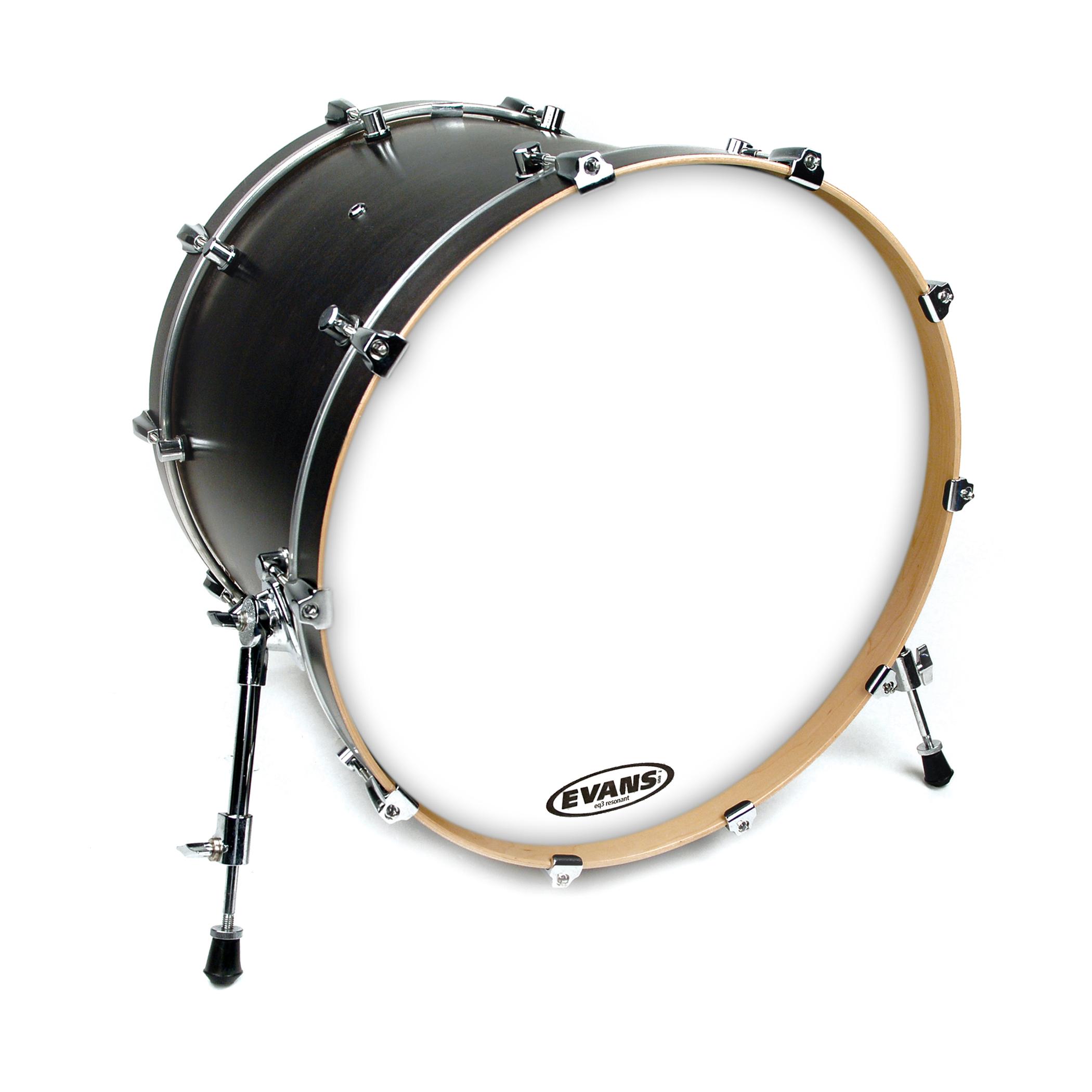 Evans 22 EQ3-NP Bass Drum Head