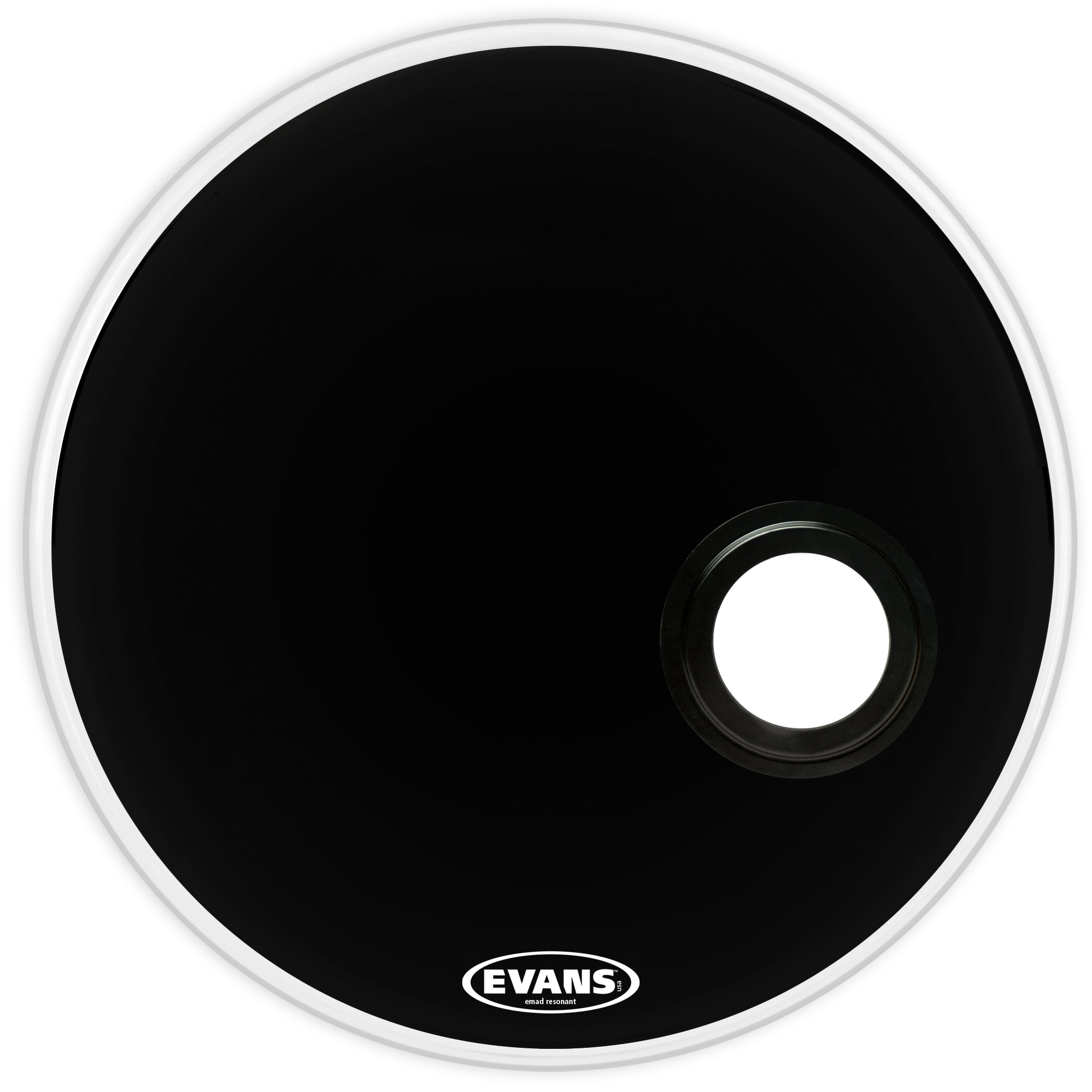 24 Evans REMAD Resonant Bass Drum Head 24 Inch