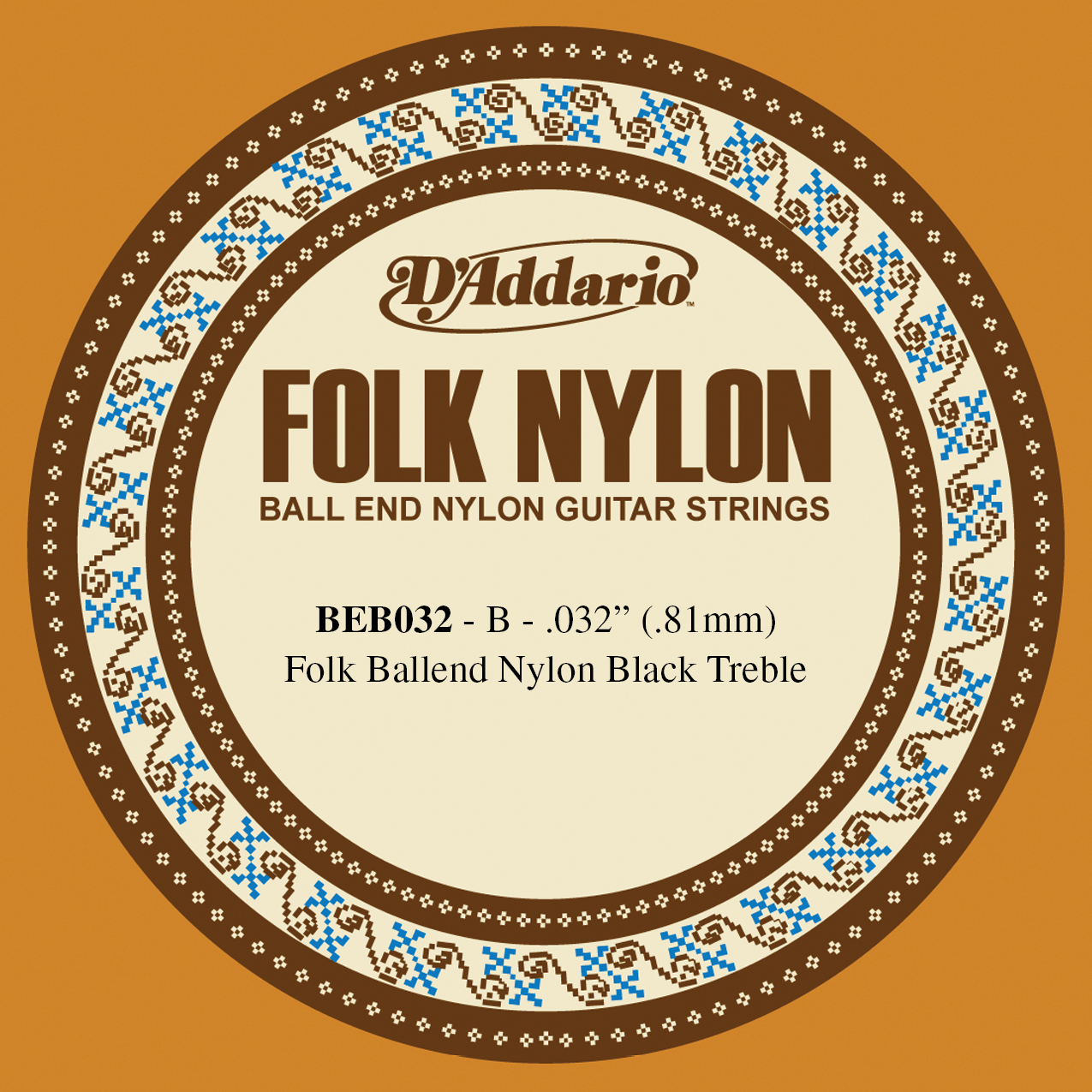 DADD SINGLE FOLK CLR NYL 032 BALL