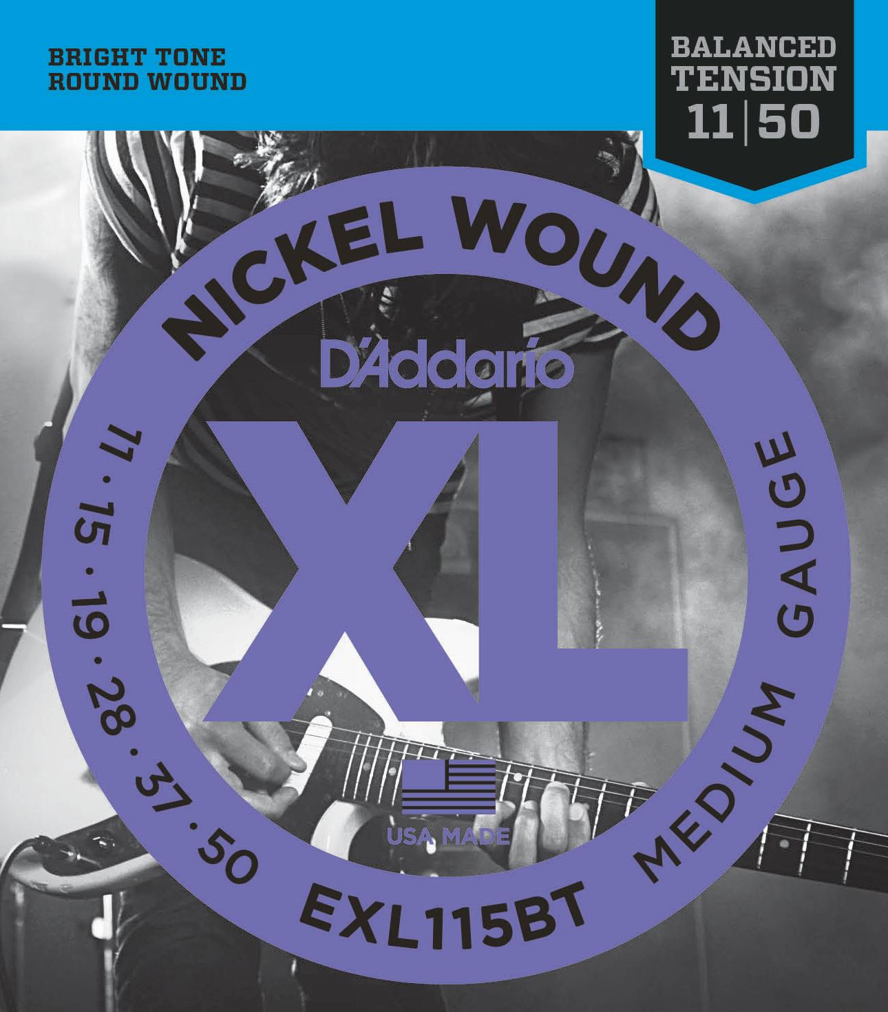 D'Addario EXL115BT Balanced Tension Electric Stringset