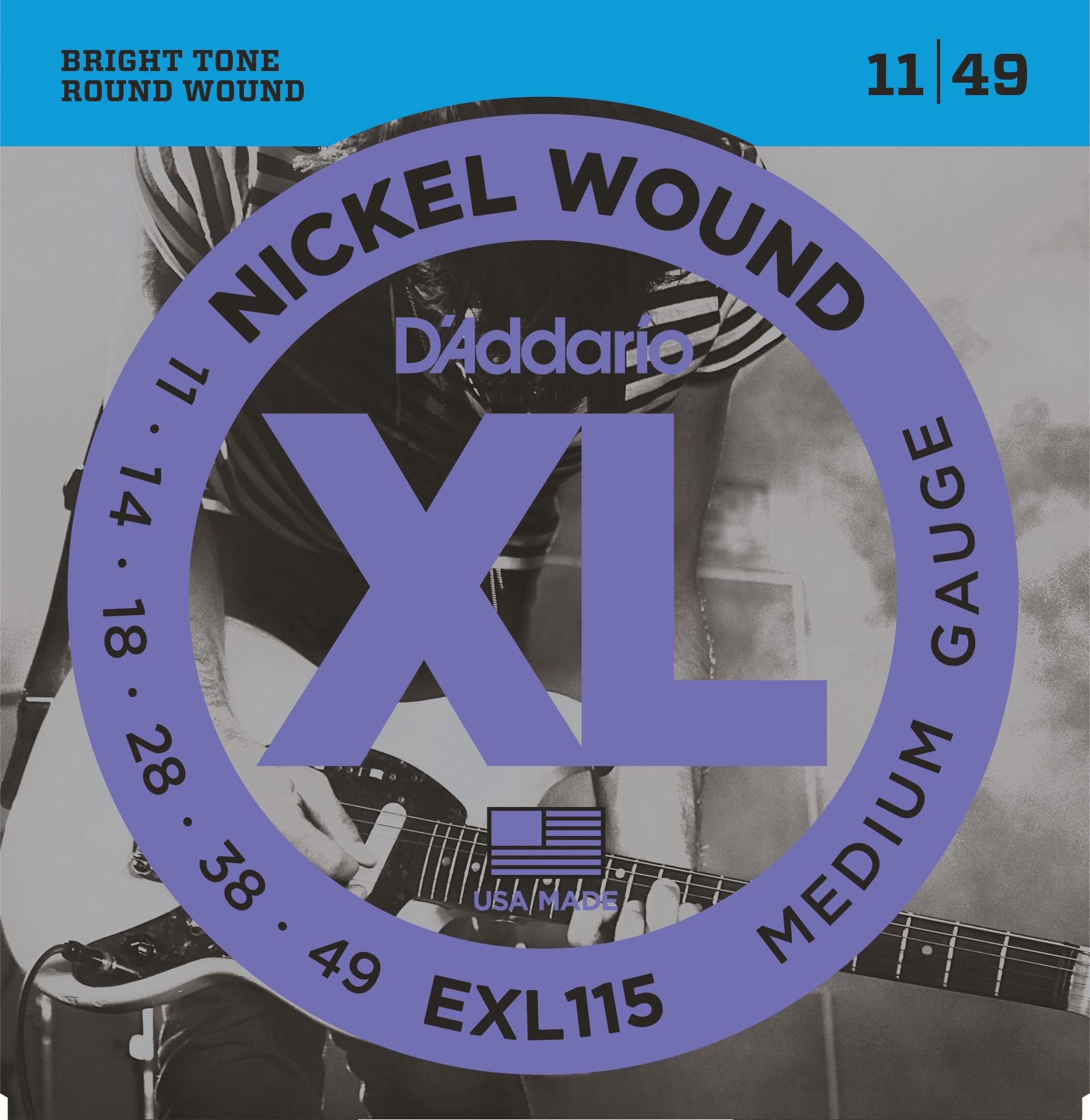 XL Nickel Round - Blues /Jazz Rock