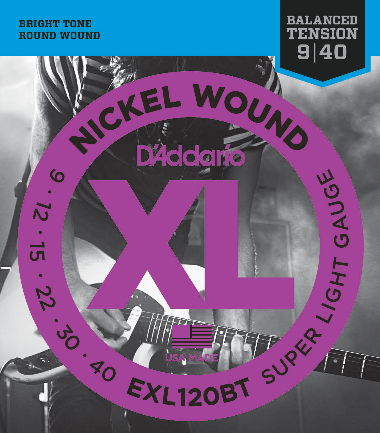 D'Addario EXL120BT Balanced Tension Electric Stringset