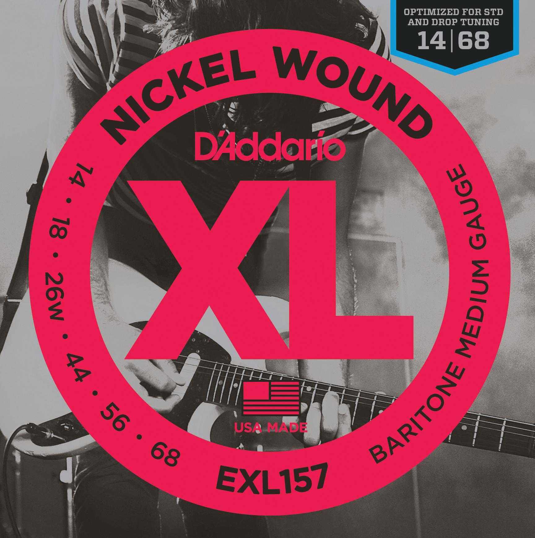 D'Addario EXL157 Electric Stringset