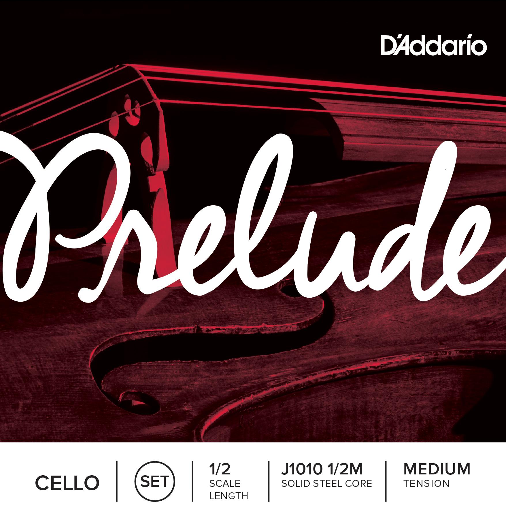D'Addario PRELUDE CELLO SET 4/4 MED J1010