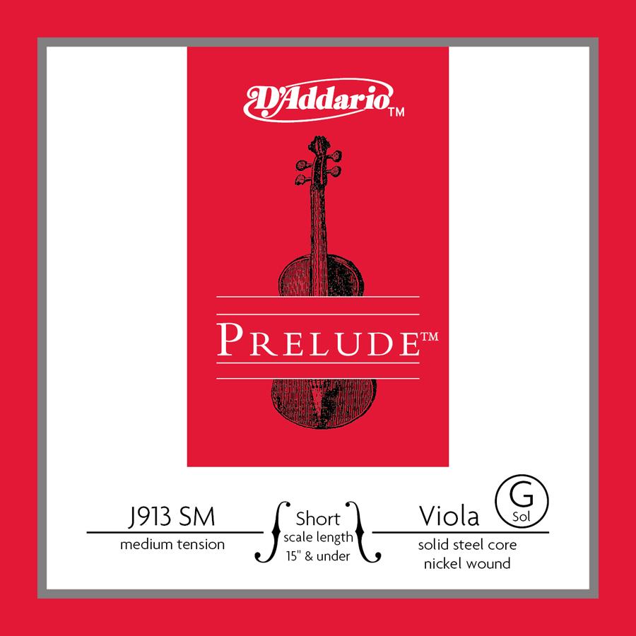 D'Addario Prelude Viola String - G 14-15 D'Addario Short