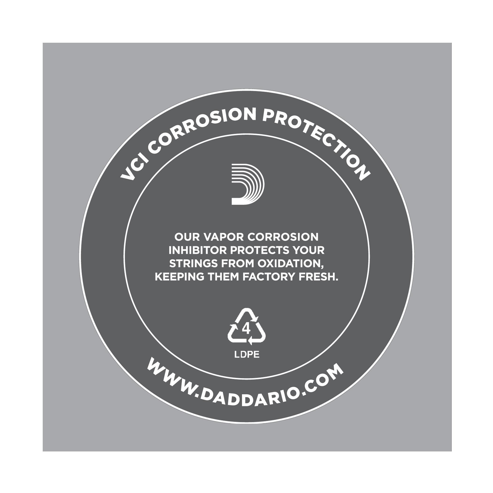D'Addario LE012 Plain Steel Loop End Single String, .012