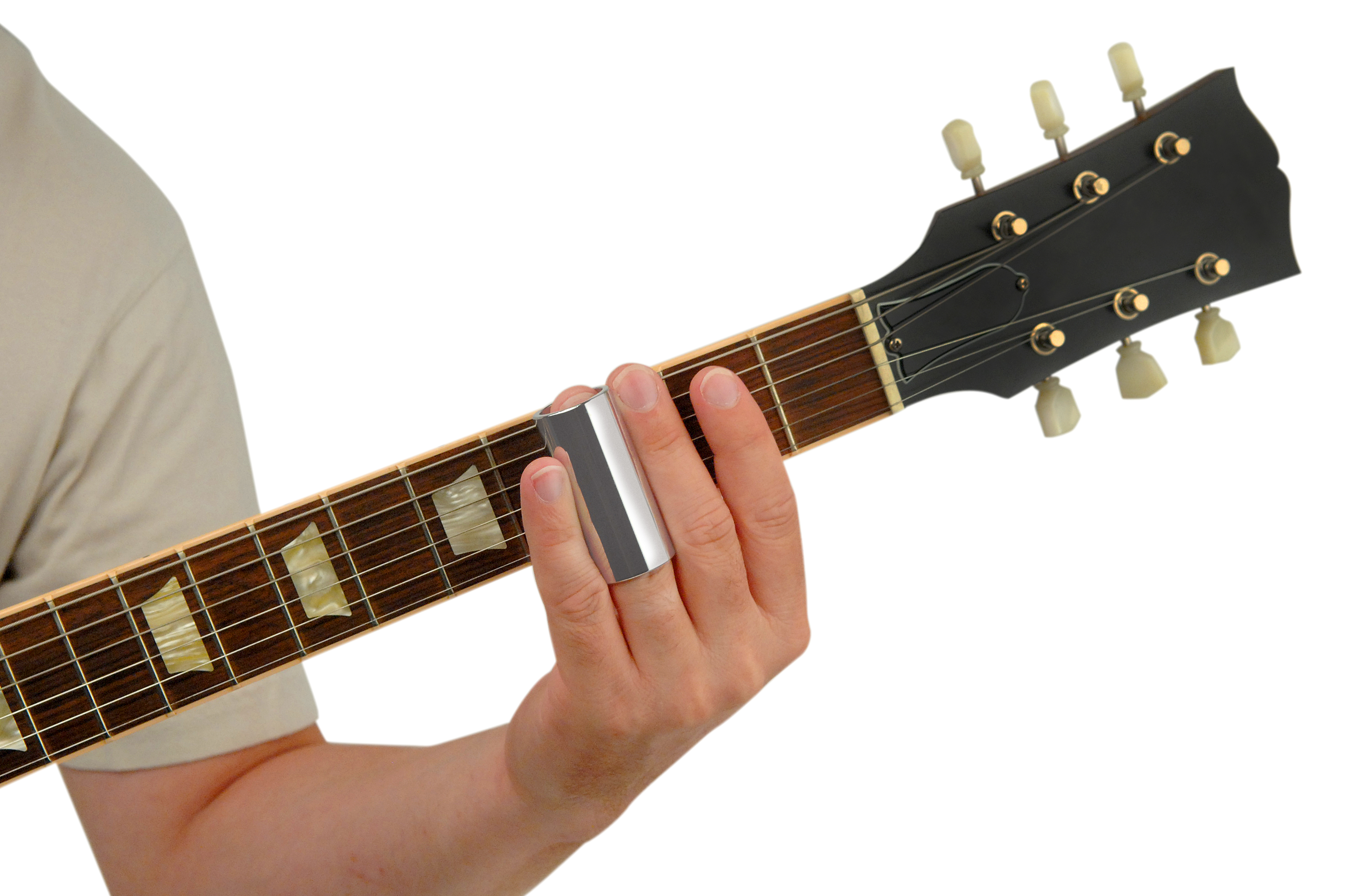 Planet Waves Chrome-Plated Brass Guitar Slide Medium