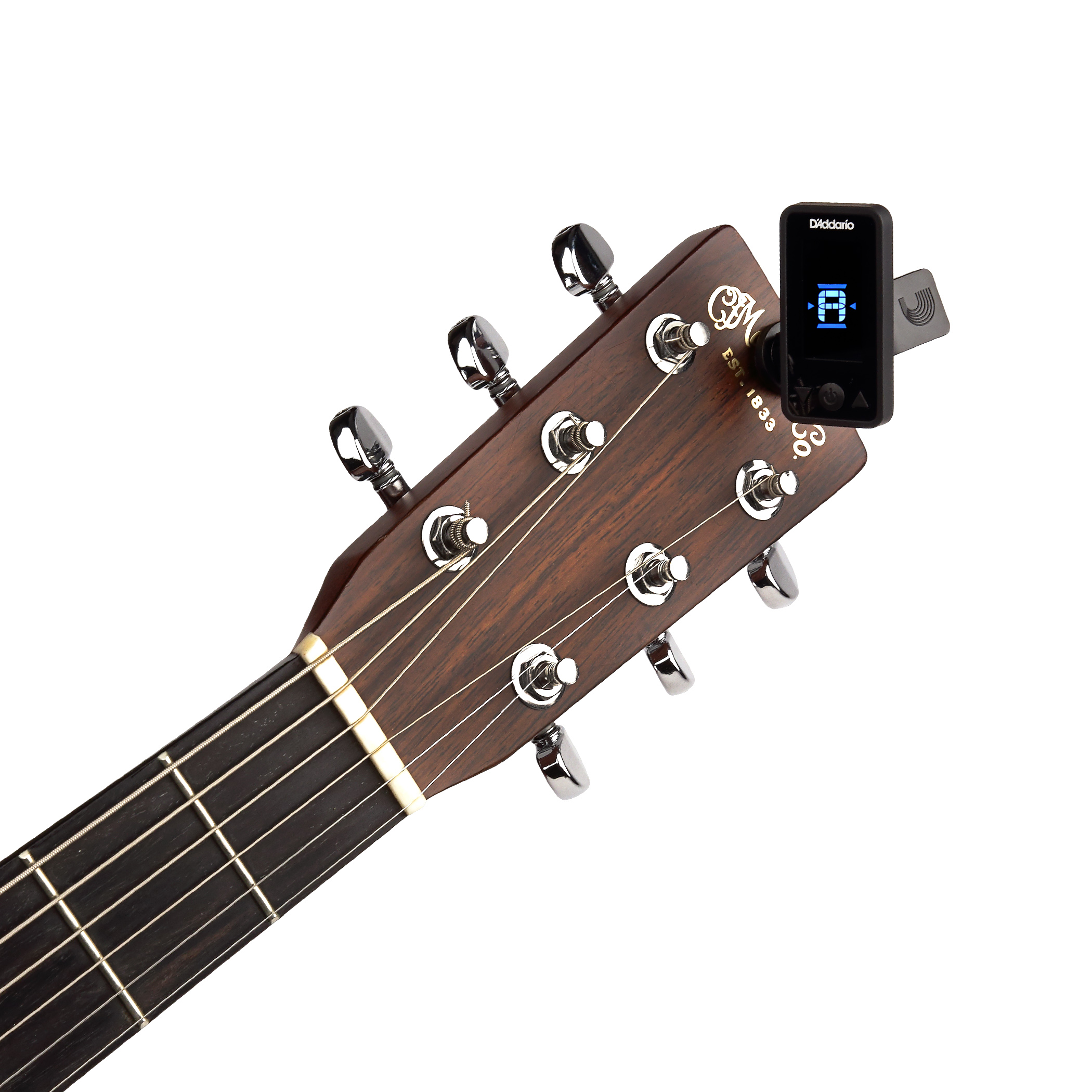 D'Addario Eclipse Headstock Tuner Black