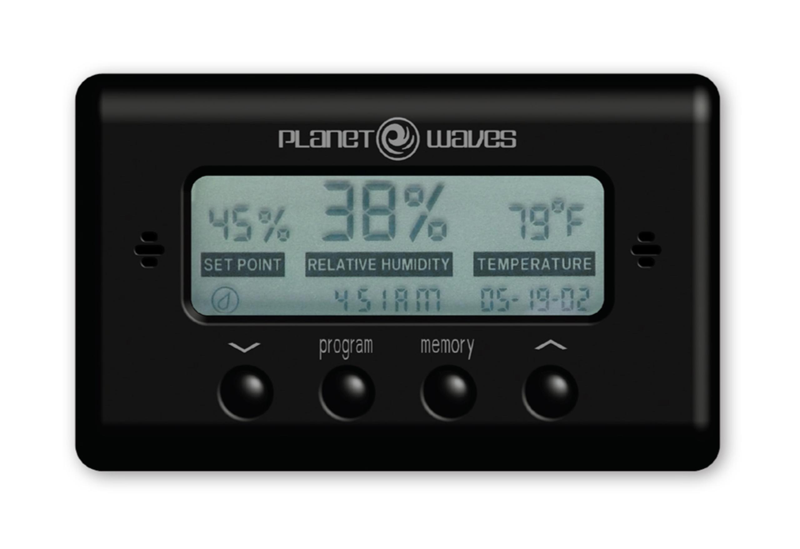 D'Addario Hygrometer PW-HTS
