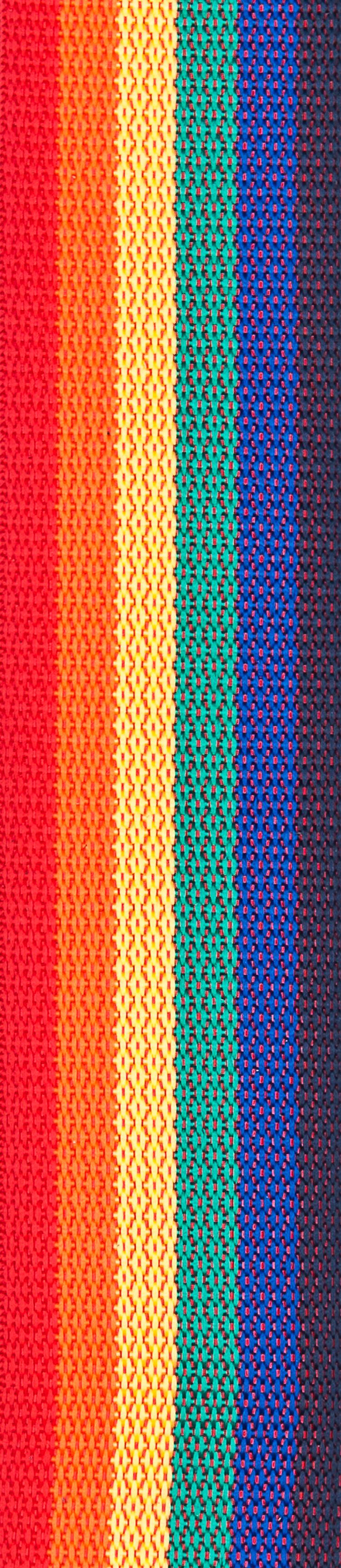 Planet Waves Polypropylene Guitar Strap, Rainbow