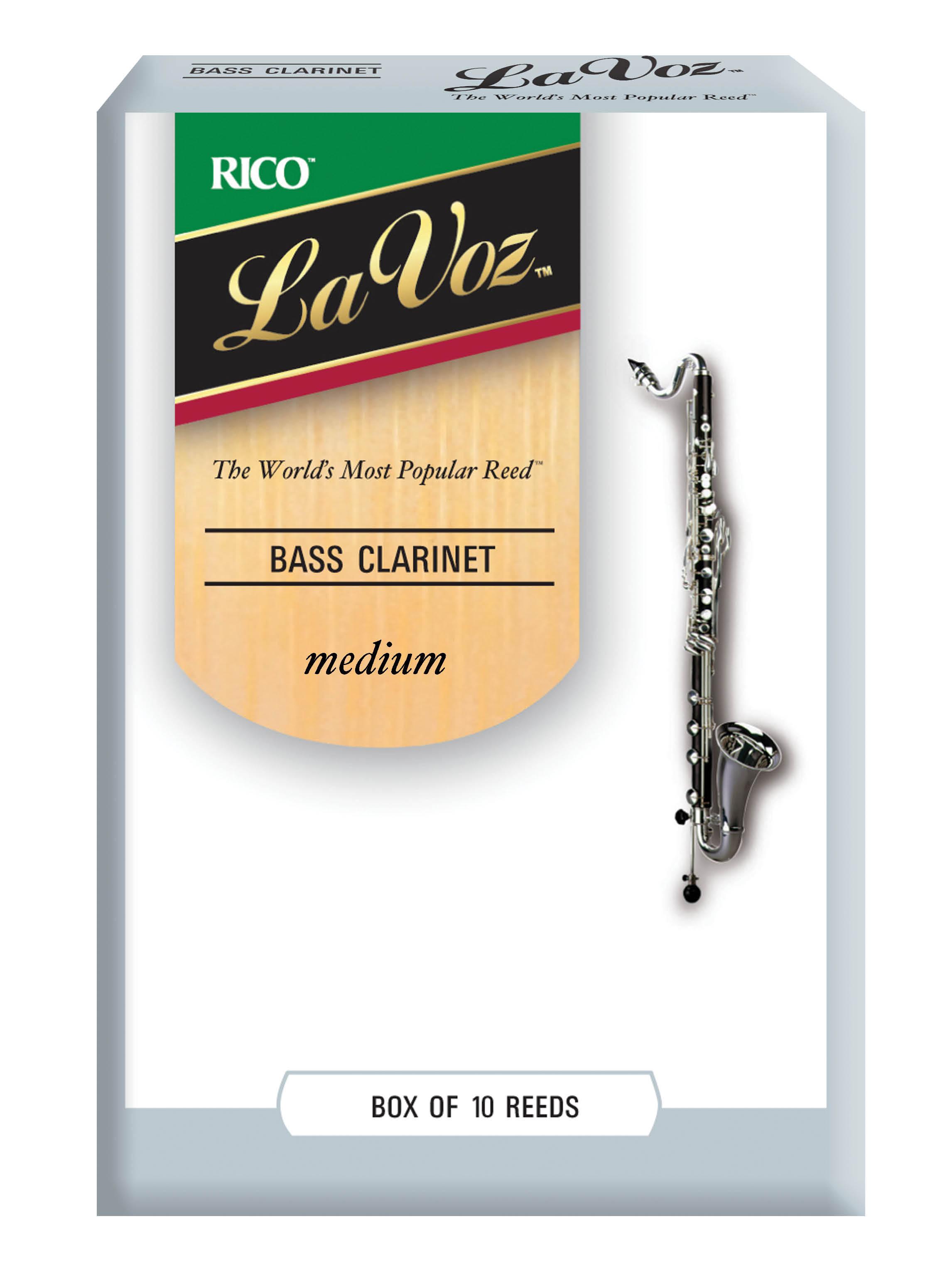 La Voz Med Bass Clarinet Reeds