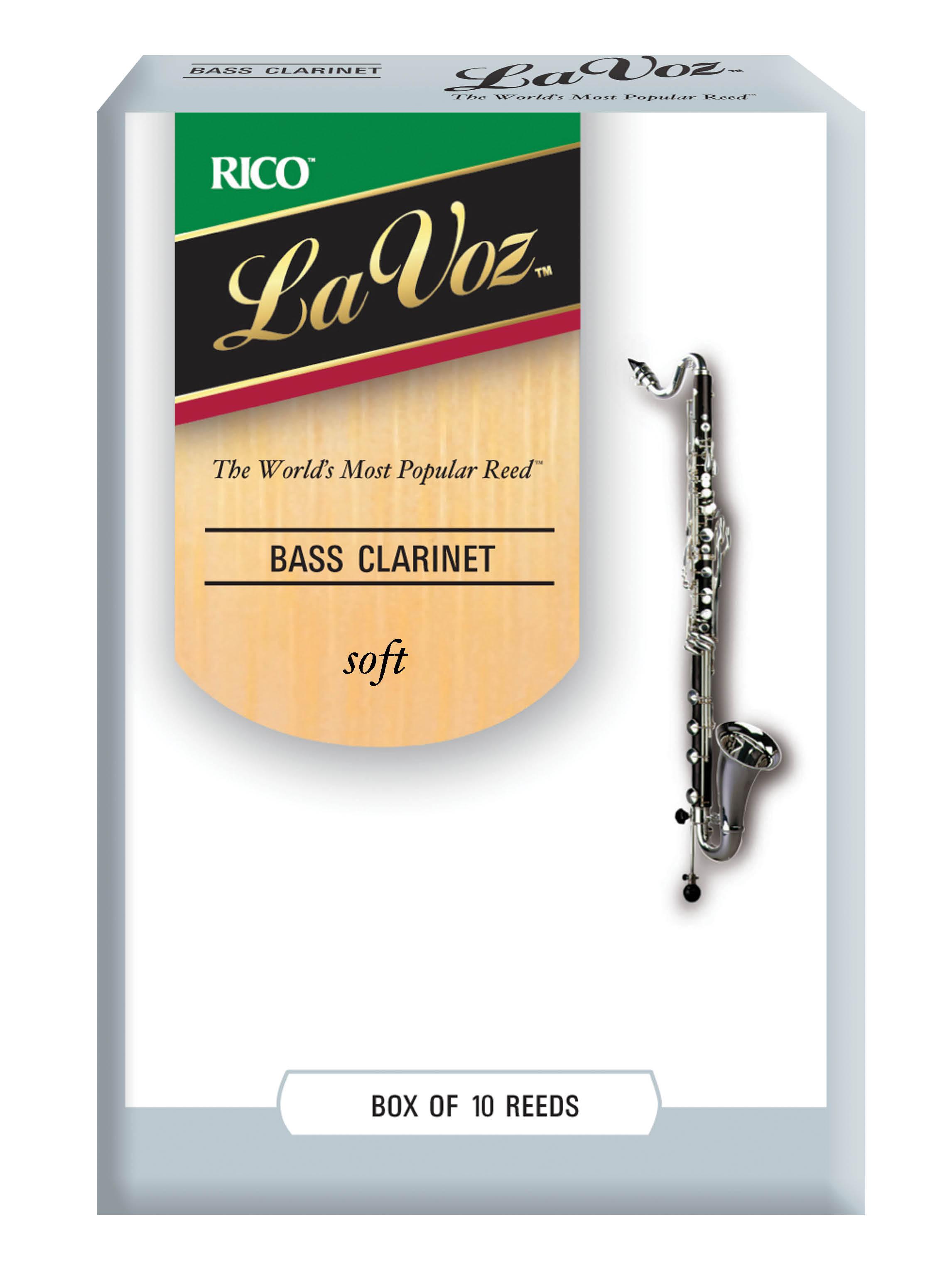 La Voz Soft Bass Clarinet Reeds