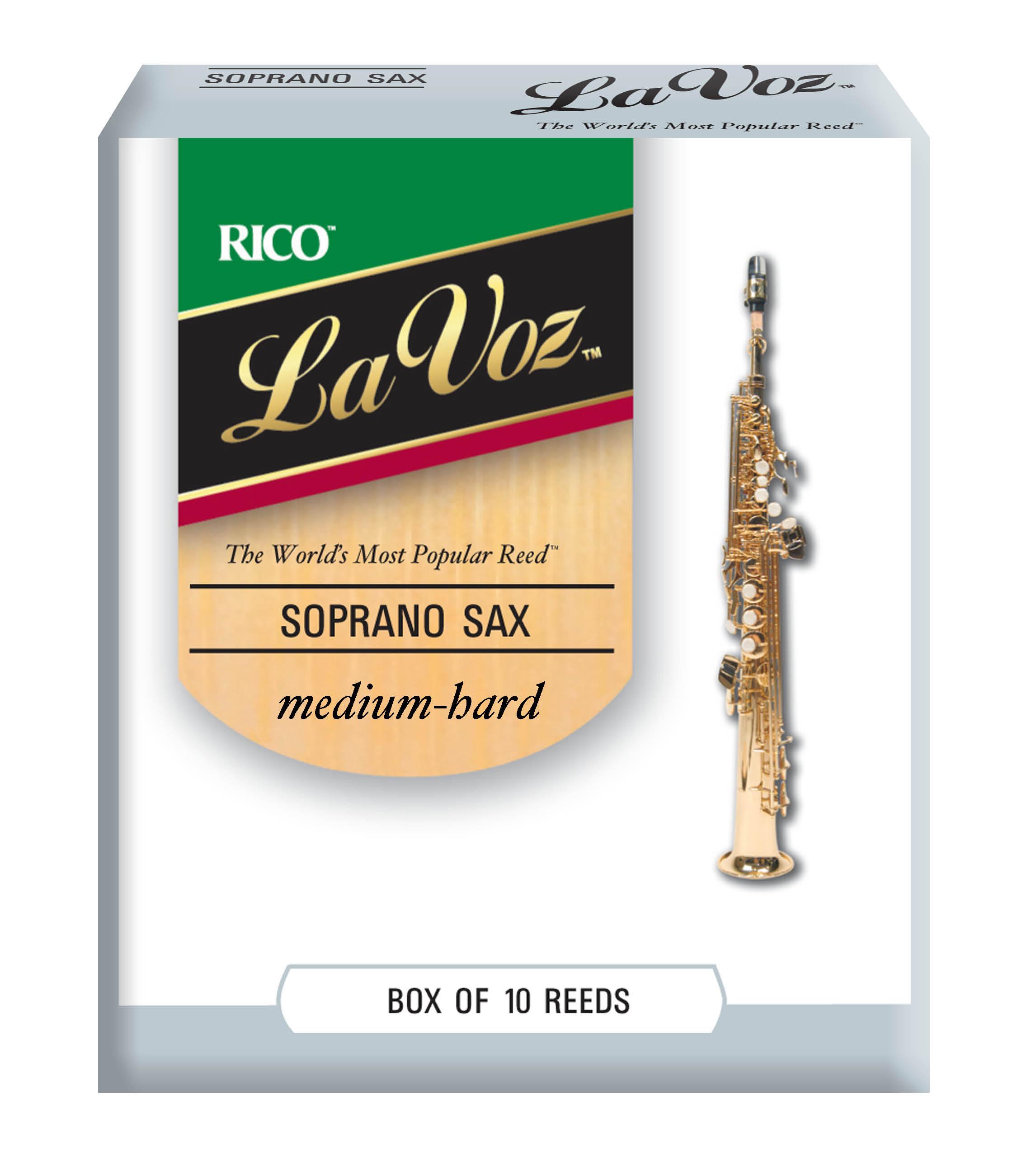 La Voz Baritone Saxophone Reeds 5 Pack Medium Hard