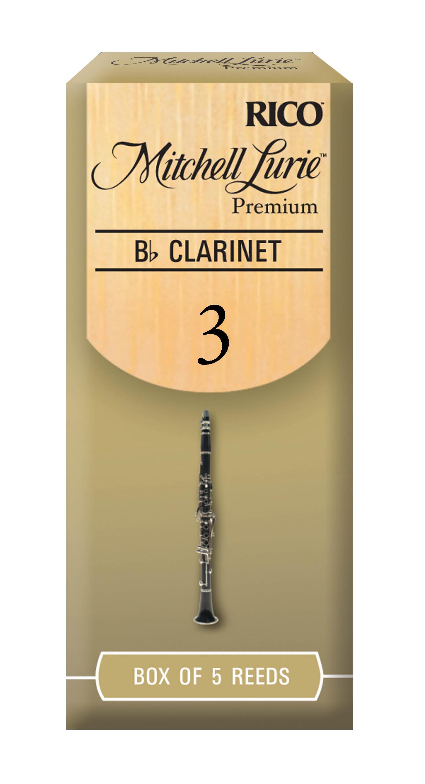 Mitchell Lurie Premium Bb Clarinet Reeds 3.0