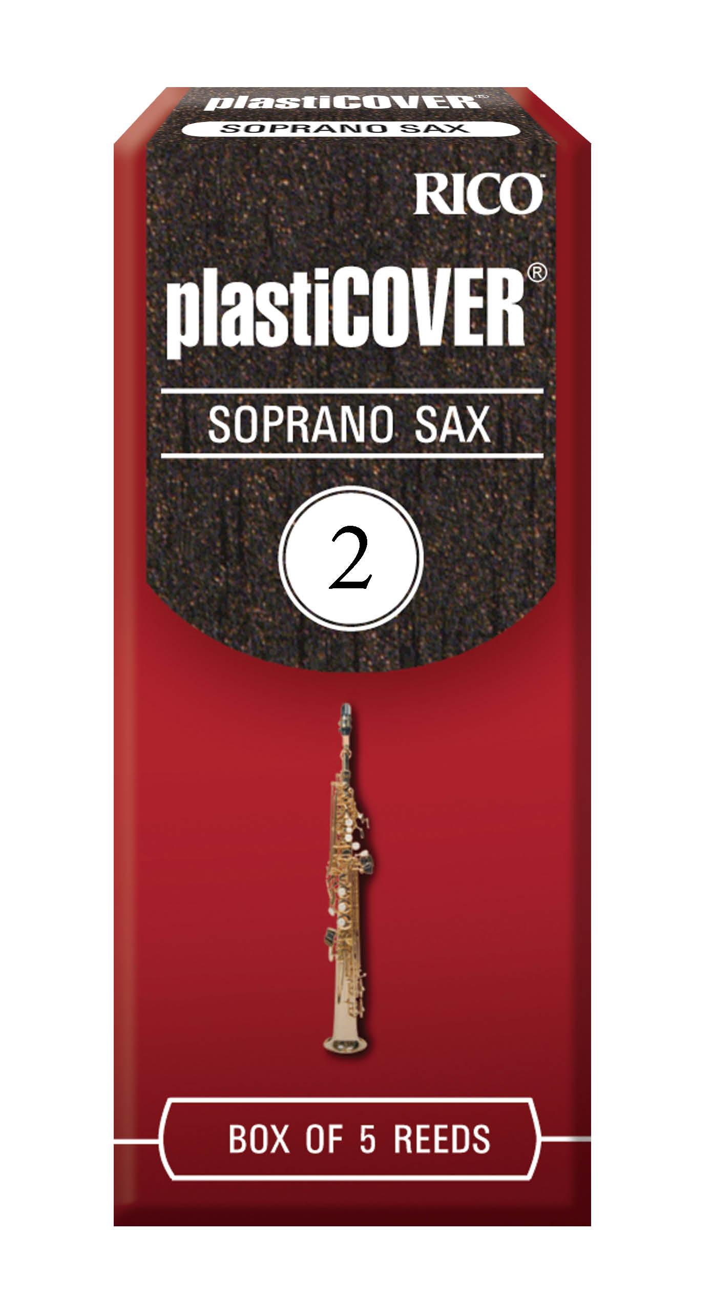 Rico Plasticover Soprano Saxophone Reeds (Box of 5)