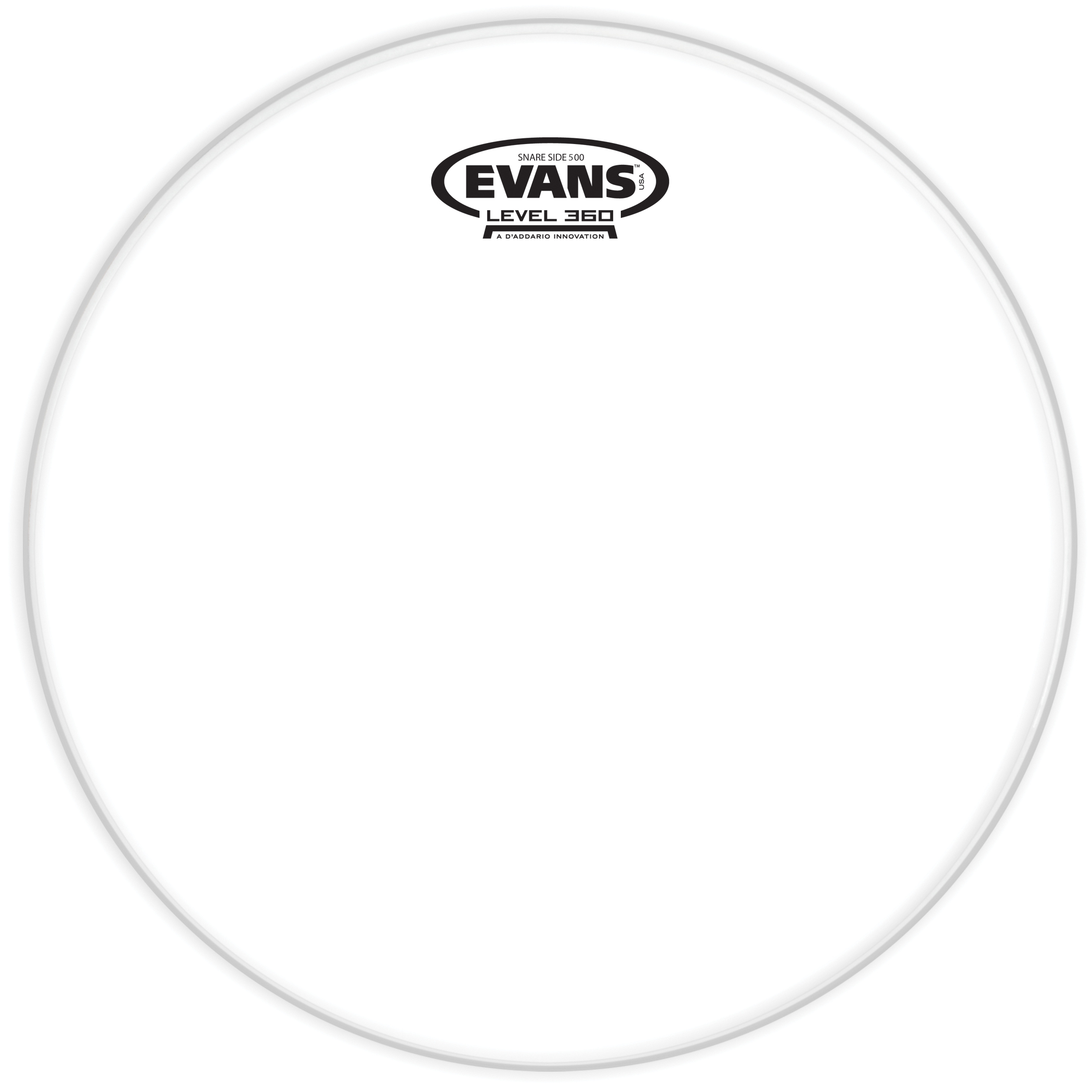 Evans Clear 500 Snare Side Drum Head 14 Inch