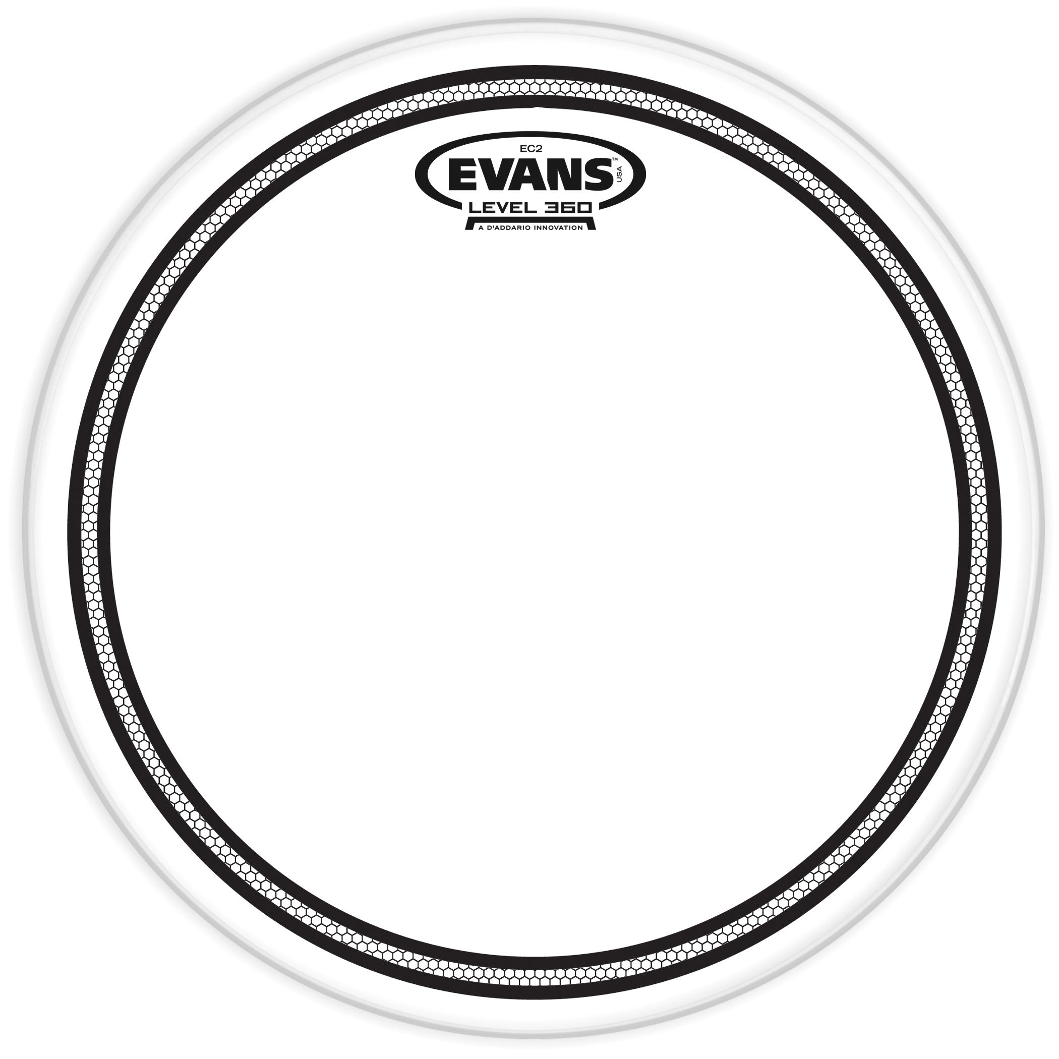 Evans EC2 Clear Drum Head 8