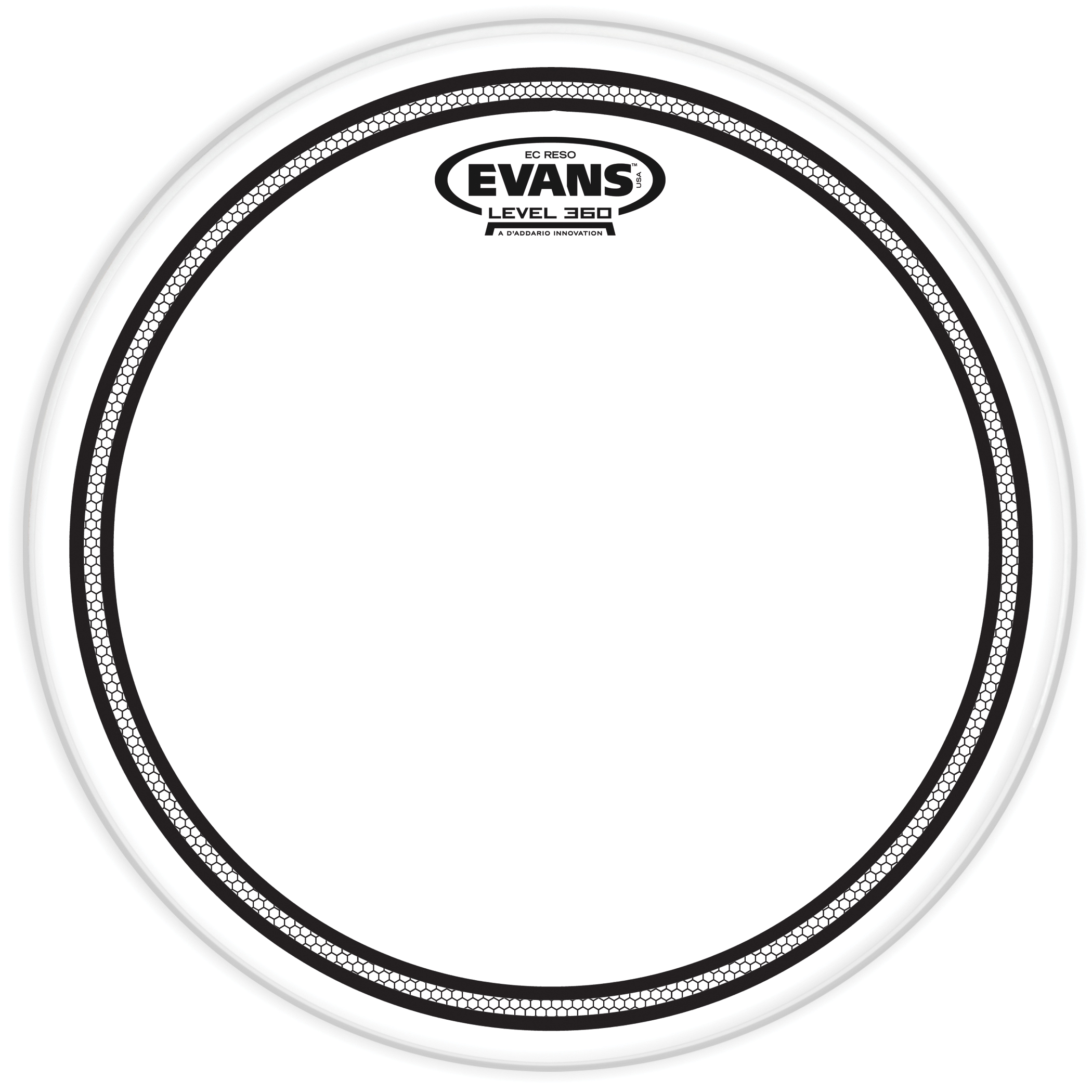 Evans EC Resonant Drum Head 12 Clear TT12ECR