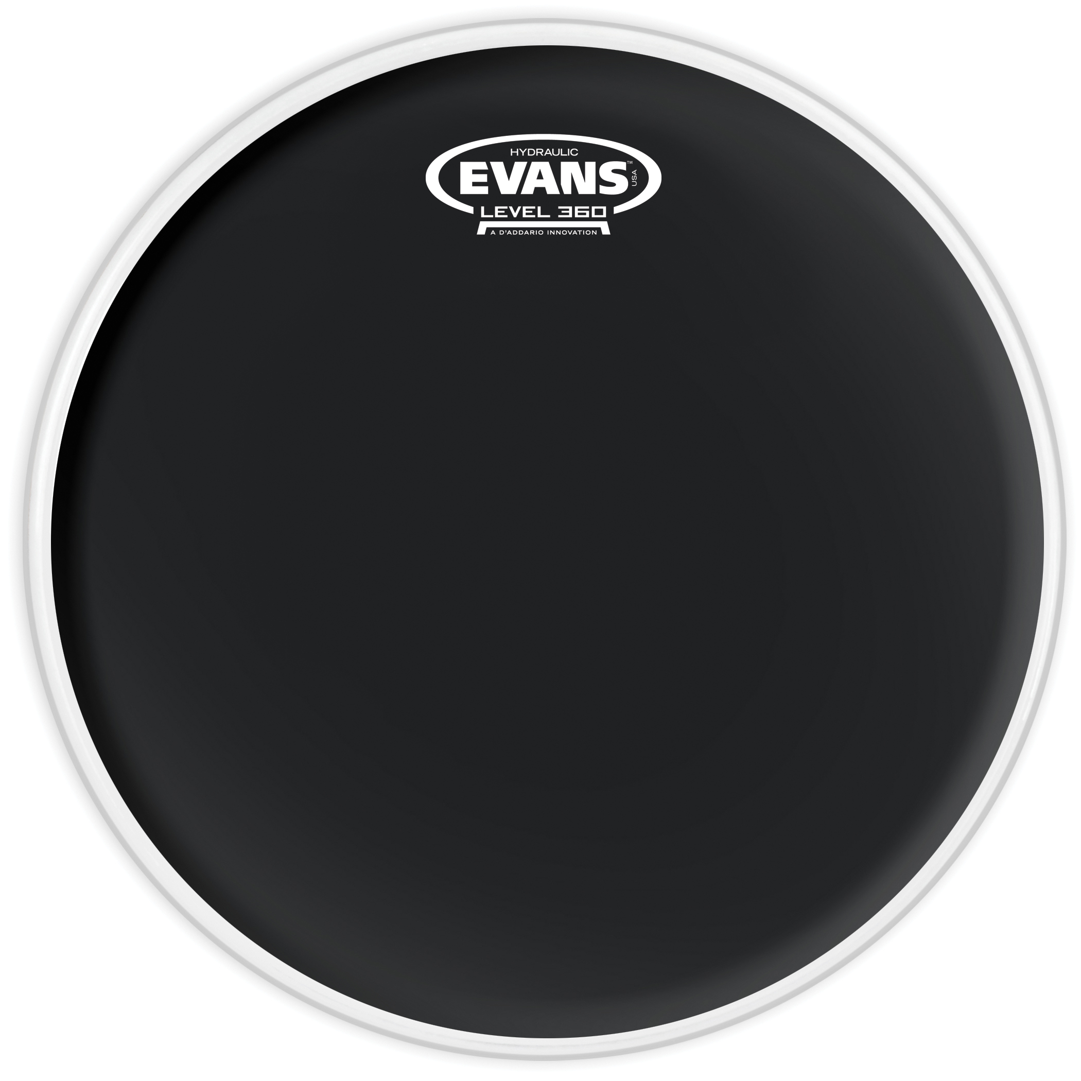 Evans Hydraulic Black Drum Head 12