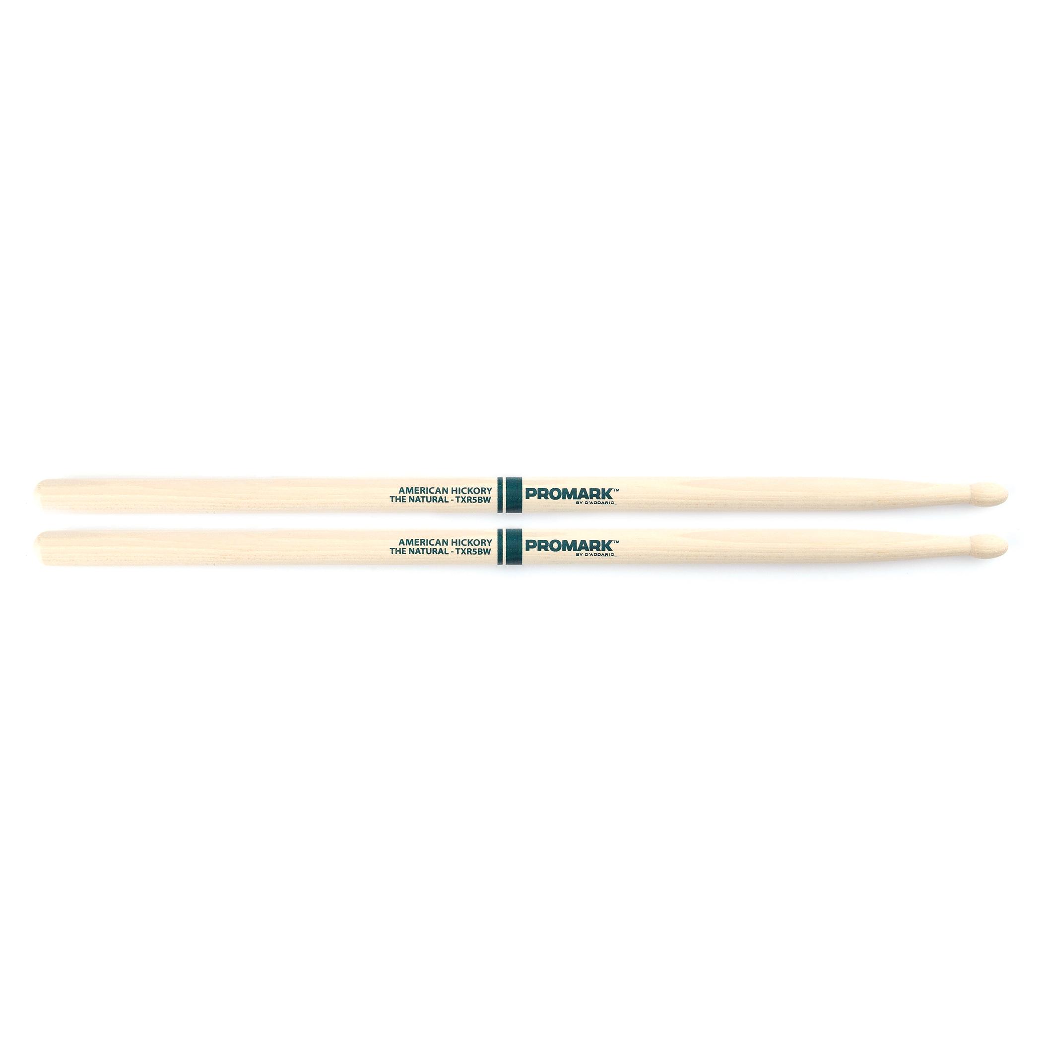 Promark Classic Natural 5B Wood Tip Drumsticks