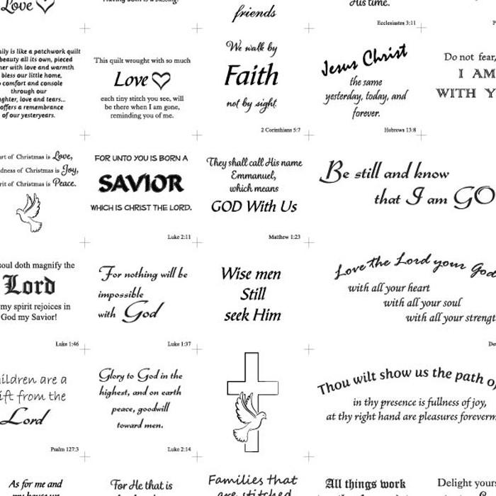Religious Text Patchwork