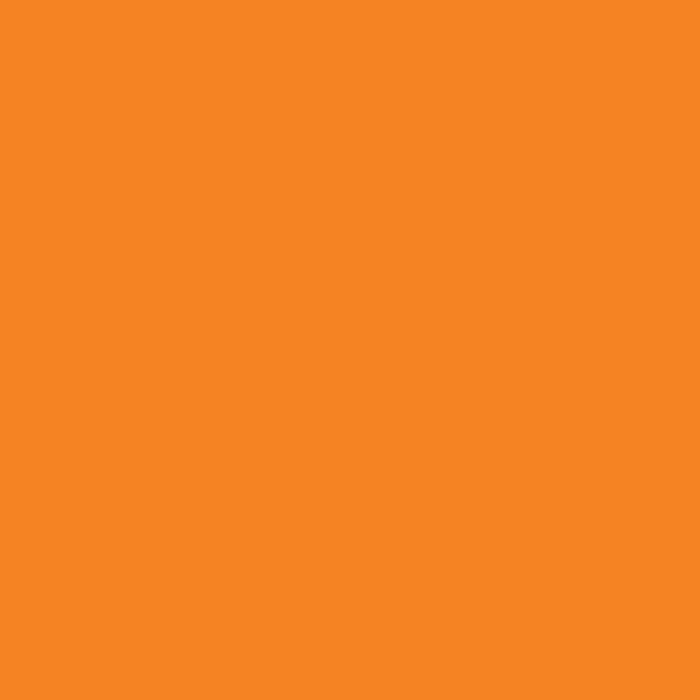 David Textile Solid Fleece Orange 58
