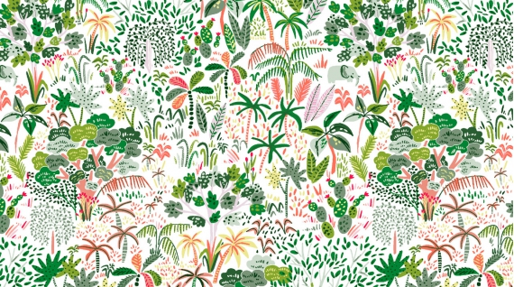 Rainforest (White)