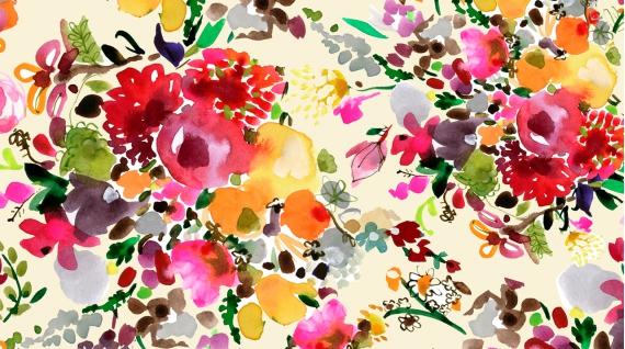 Floral Bouquets (Multi)