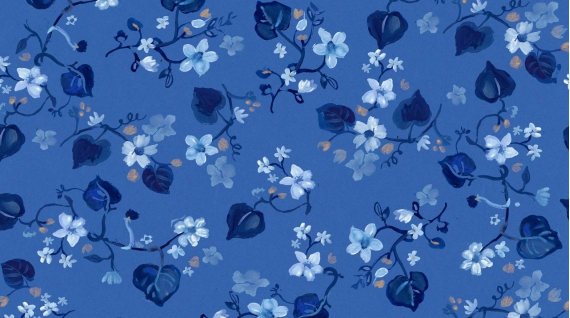 Blue Crush Fall Vines multi