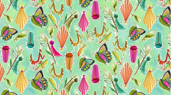 Midsummer Dream Summer Bugs multi