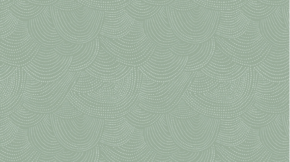 Scallop Dot/Ivy: Black Forest (Dear Stella)