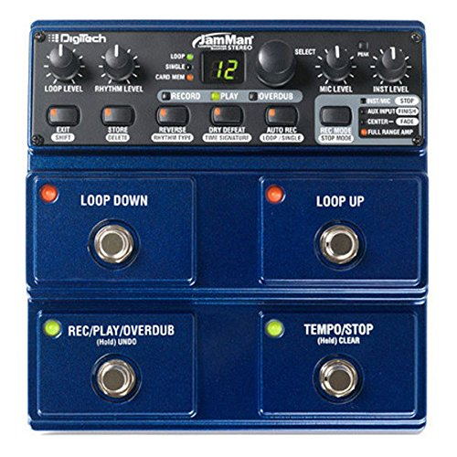 DigiTech JamMan Stereo Looper SD Slot