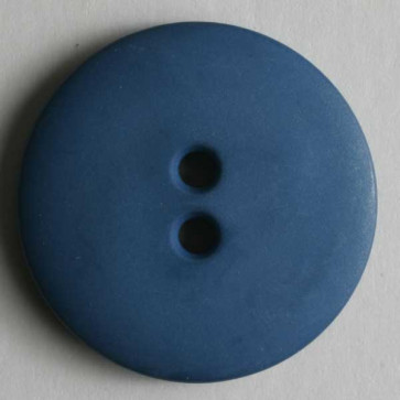 Dill Button Round 15MM Royal Blue