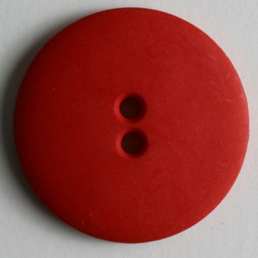 Dill Button Round Red 15MM