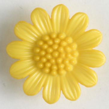 N- Button Polyamid Flower Yellow
